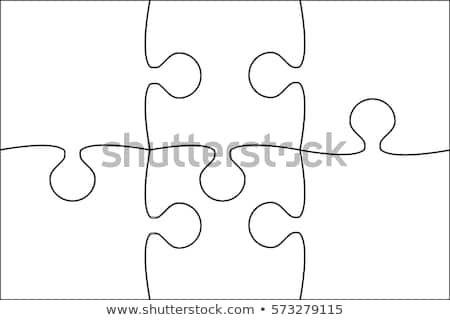 Puzzle clipart 6 piece. Rectangle white pieces background