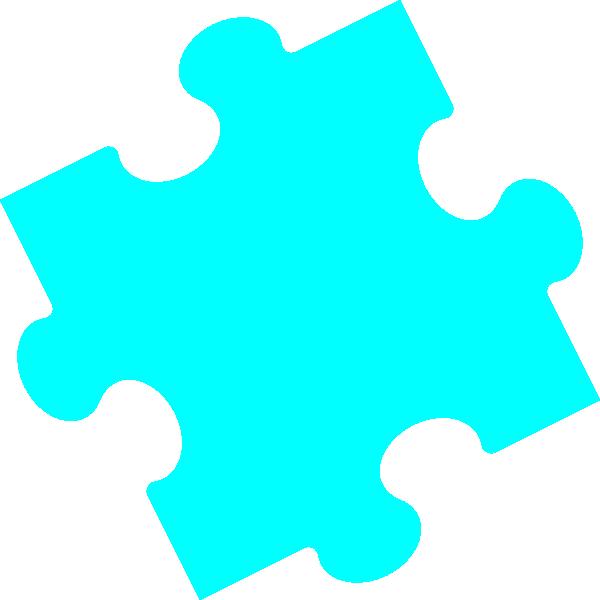 Jigsaw pastel clip art. Puzzle clipart 6 piece