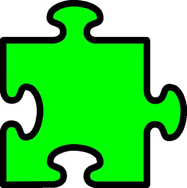 Puzzle clipart 6 piece. Clip art at clker