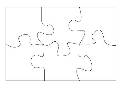 Free download clip art. Puzzle clipart 6 piece