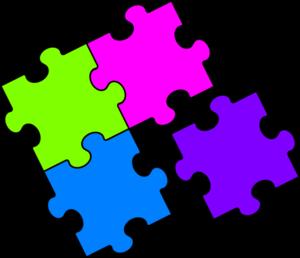 Puzzle clipart. Clip art free panda