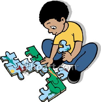 Past play personalities explorer. Puzzle clipart alone time