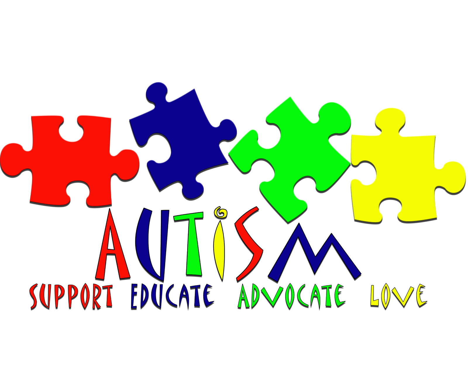 When hits home purpose. Puzzle clipart autism