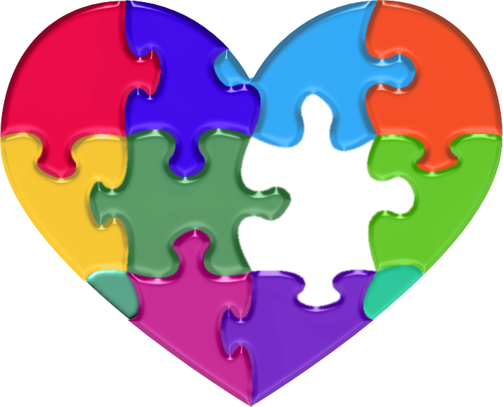 Puzzle clipart autism. Resources heartof can org