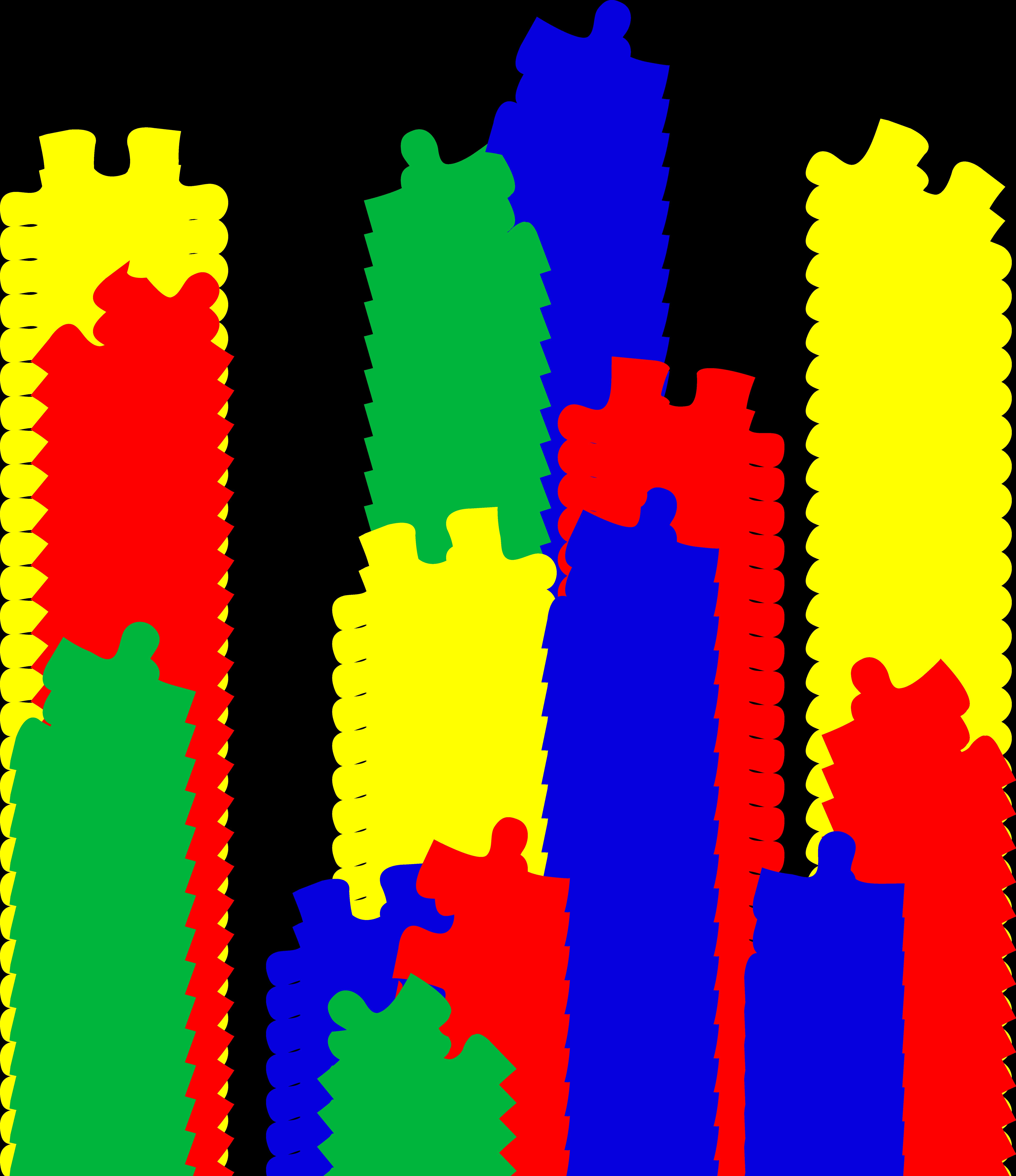 Piece clip art n. Puzzle clipart autism