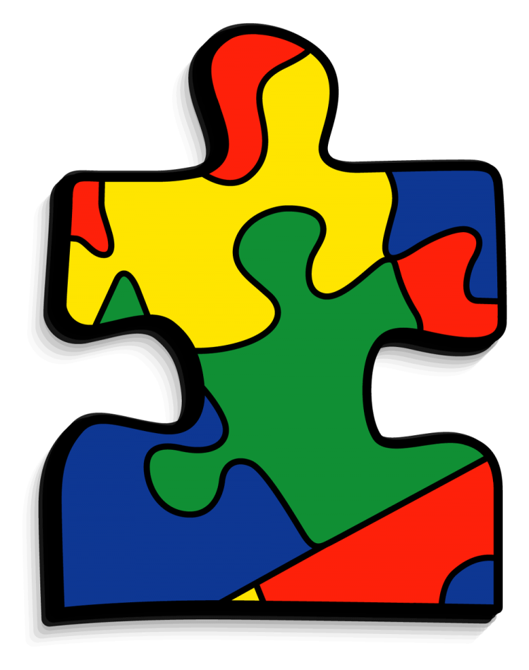 Puzzle clipart autism. Piece the religious studies