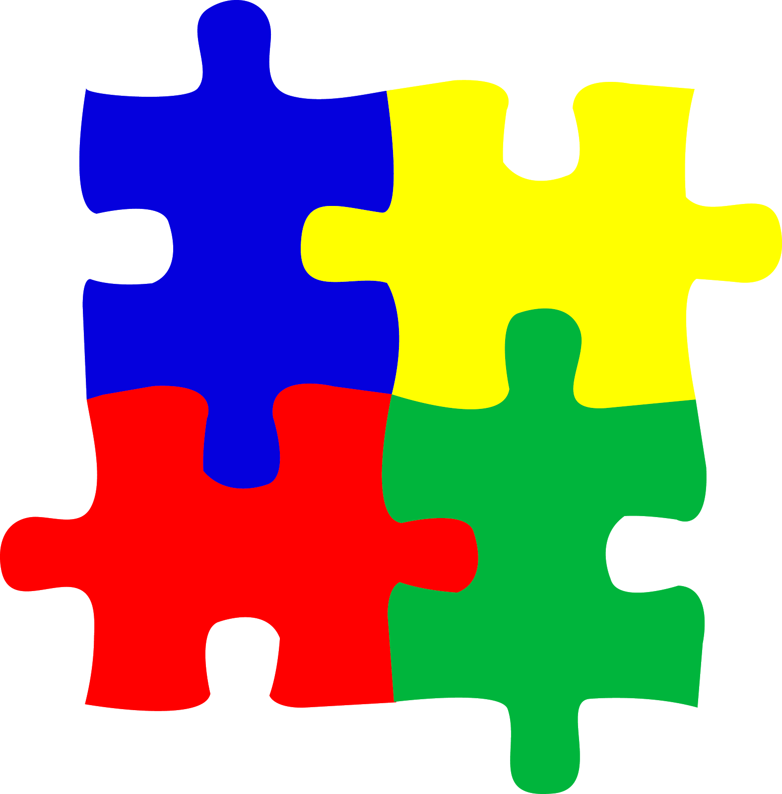 Freelance savant the pieces. Puzzle clipart autism