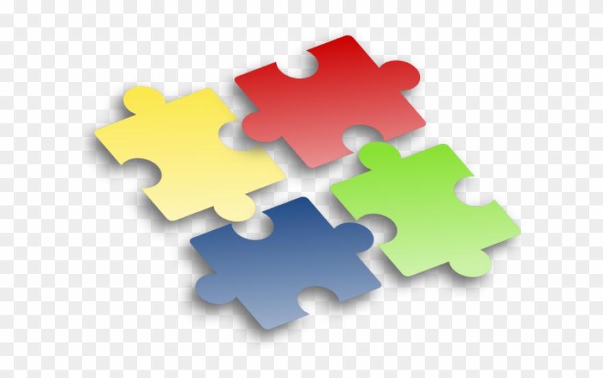 Pieces no . Puzzle clipart background