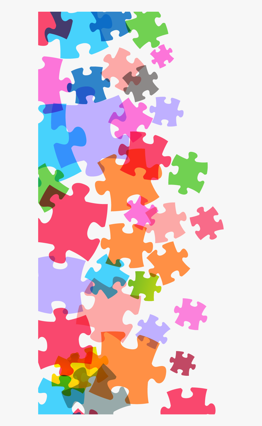 Share this article pieces. Puzzle clipart background