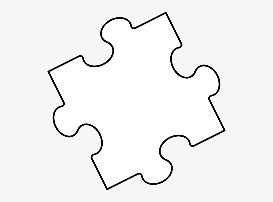 Puzzle clipart black and white. Banner freeuse download piece