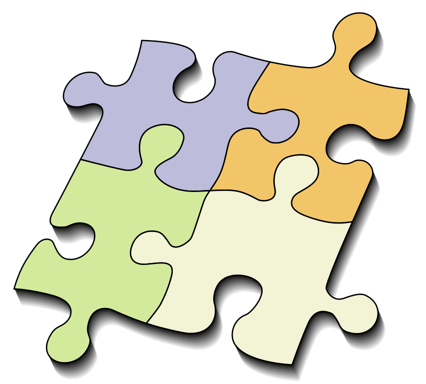 File jigsaw svg wikipedia. Puzzle clipart brain teasers