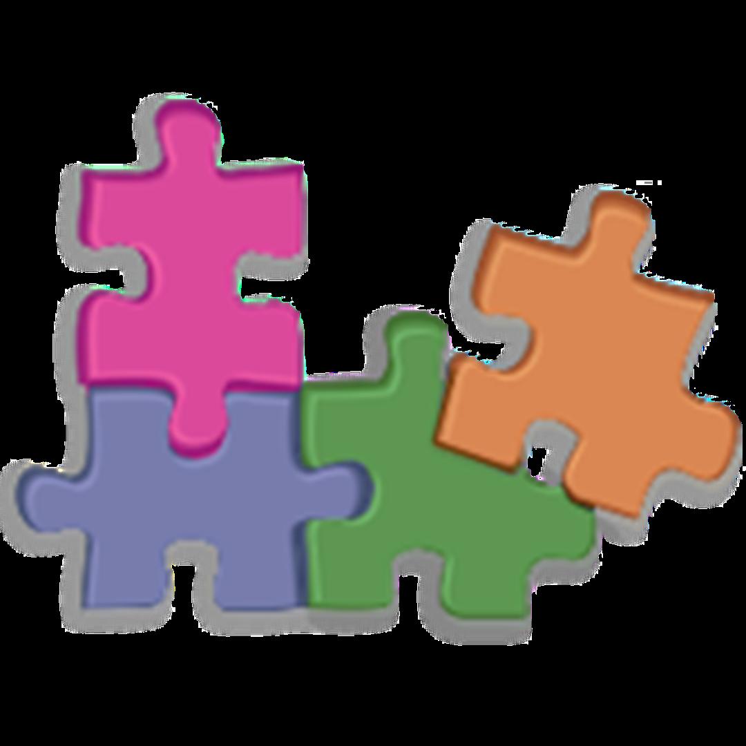 Whole vs part about. Puzzle clipart center
