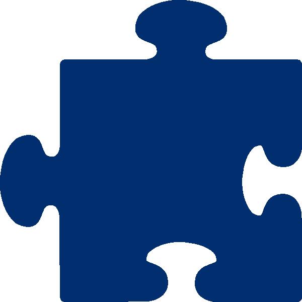Puzzle clipart center. Blue jigsaw clip art
