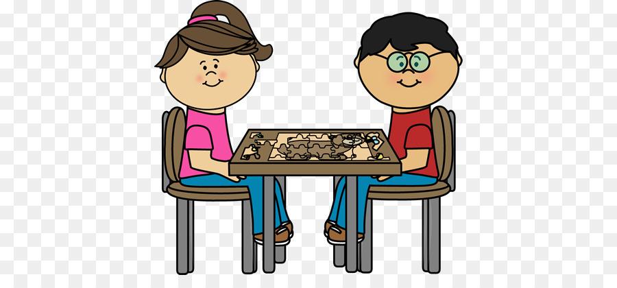 Cartoon game transparent . Puzzle clipart child puzzle