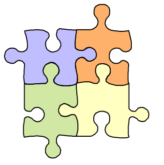 Puzzle clipart clip art. Gallery for free of