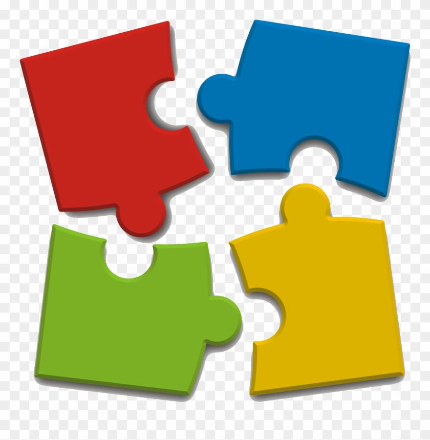 Puzzle clipart complete puzzle. Transparent background occupational