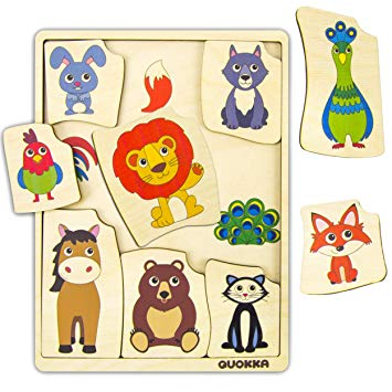 Puzzle clipart exceptional child. Amazon com quokka wooden