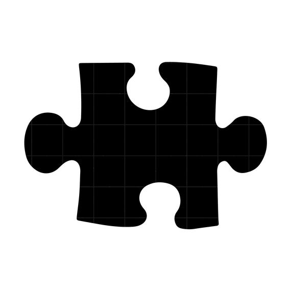 Piece svg cutting vector. Puzzle clipart file