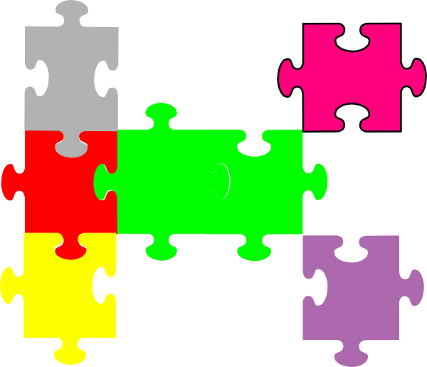 Puzzle clipart file. Jigsaw clip art at