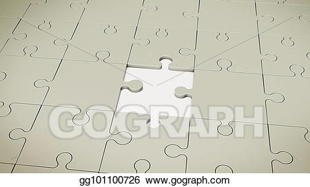 Puzzle clipart floor. Stock illustrations grey without