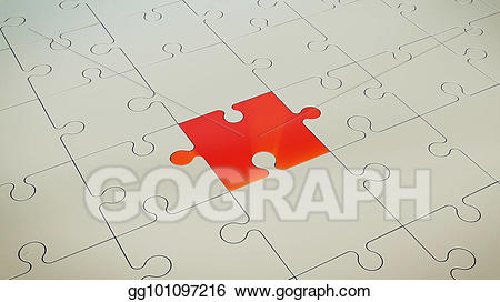 Stock illustration grey with. Puzzle clipart floor