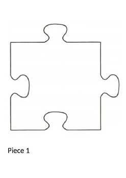 Pieces worksheets teaching resources. Puzzle clipart individual activity