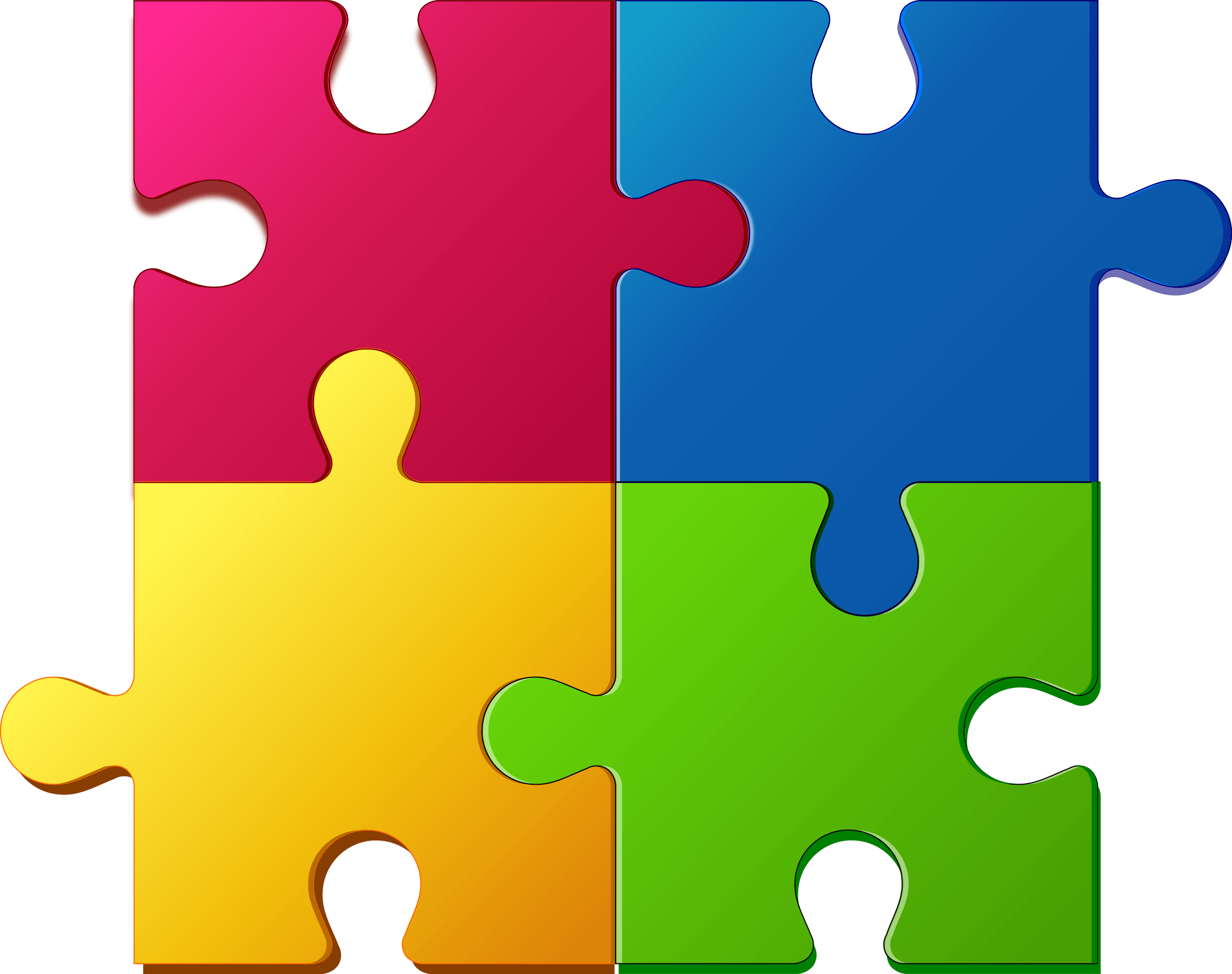 The missing piece by. Puzzle clipart jumbled