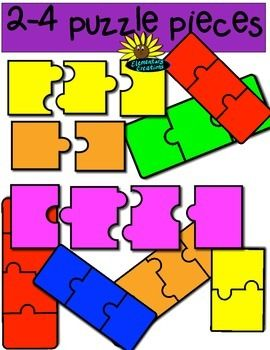 piece set kreations. Puzzle clipart kindergarten