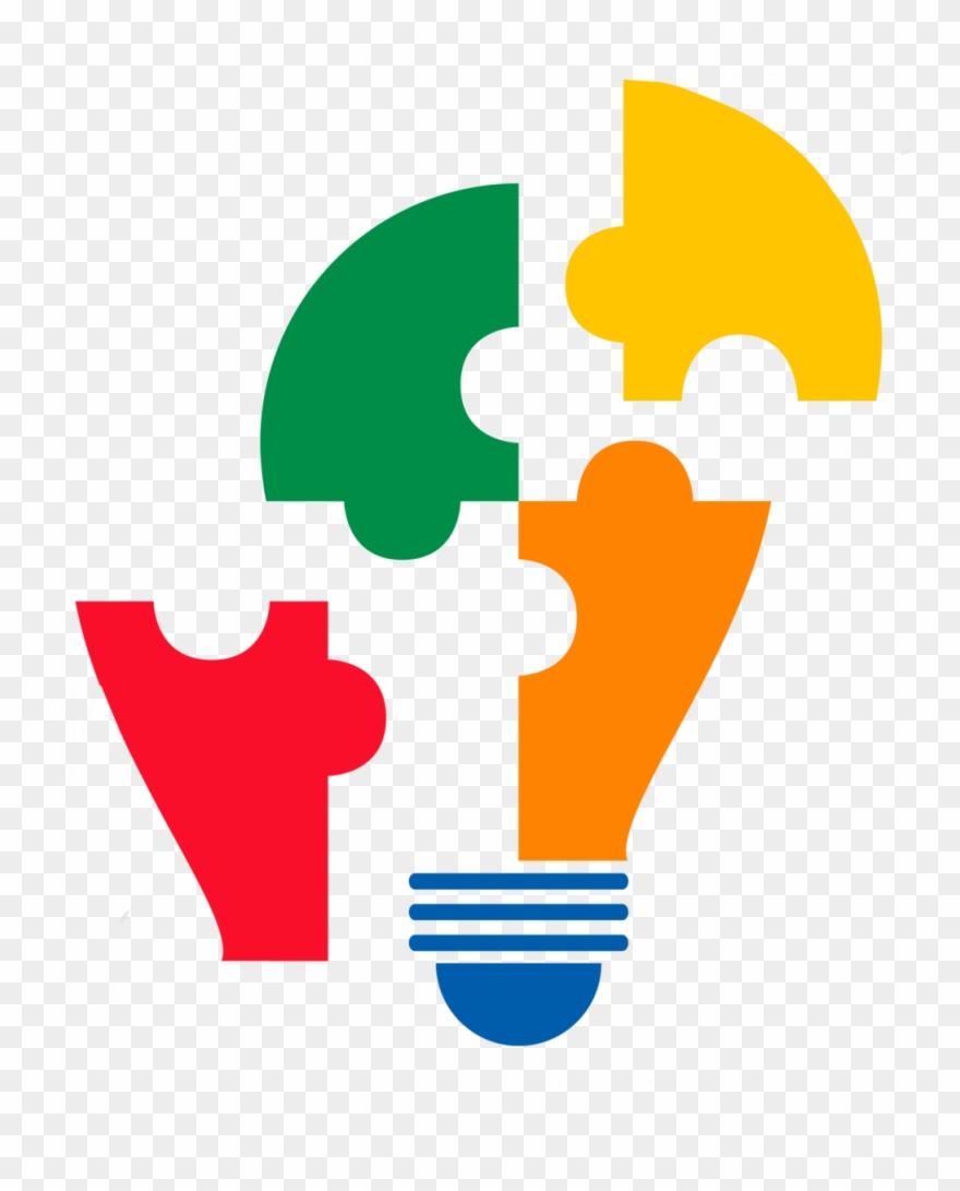 Puzzle clipart light bulb. We help put the
