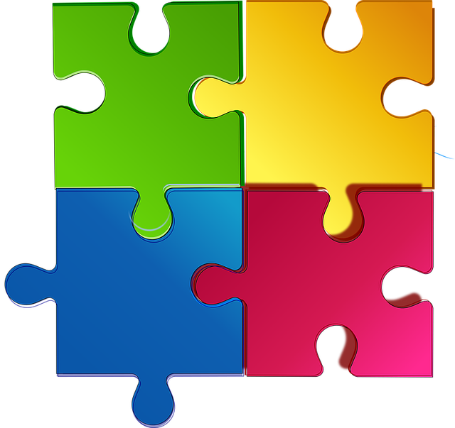Puzzle clipart man. Free photo match game