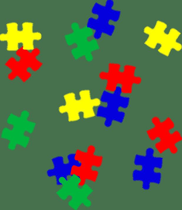 Cartoon pieces cartoonview co. Puzzle clipart man
