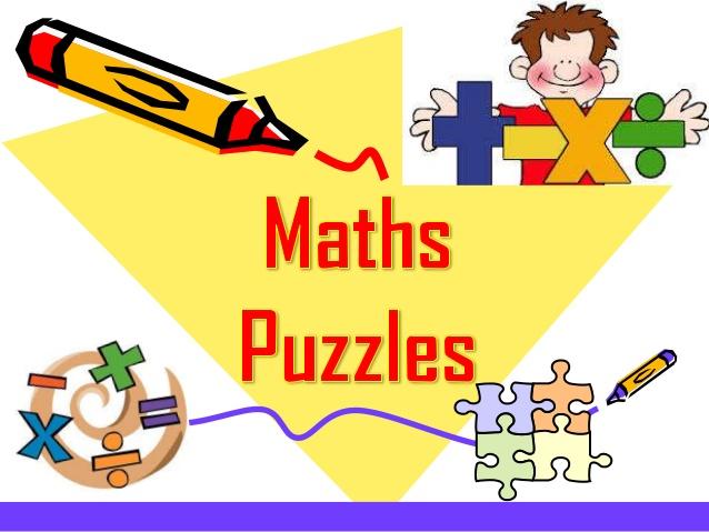 Maths . Puzzle clipart math puzzle