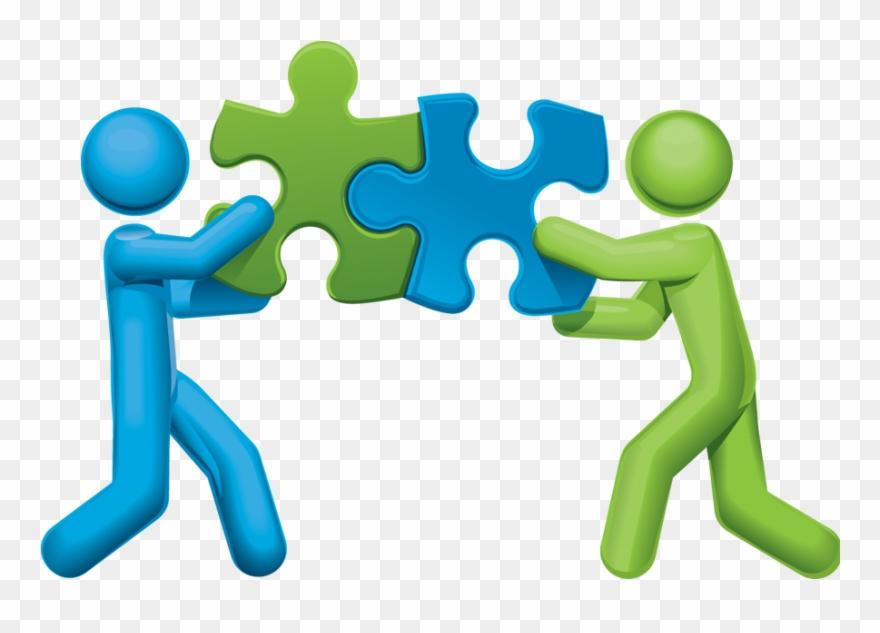 Puzzle clipart partner. Partners png download