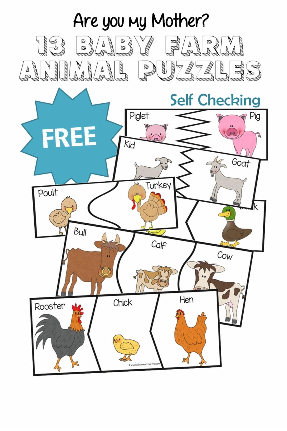 Puzzle clipart preschool. Are you my farm