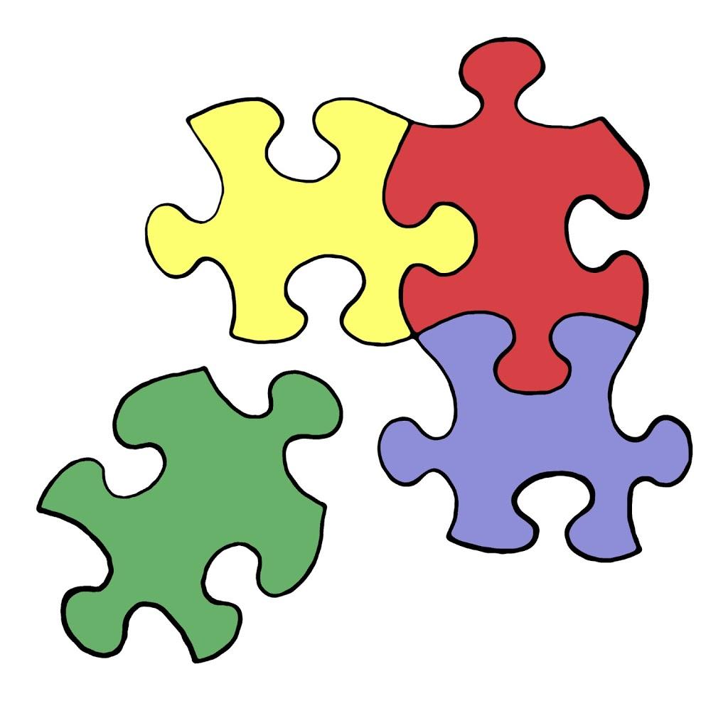Logo for maren schmidt. Puzzle clipart problem solving