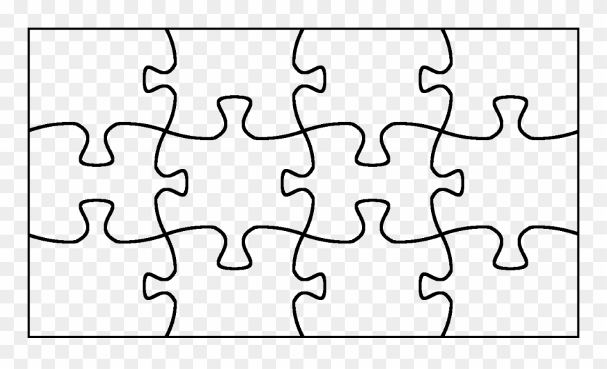 Jigsaw pieces maker of. Puzzle clipart puzzle outline
