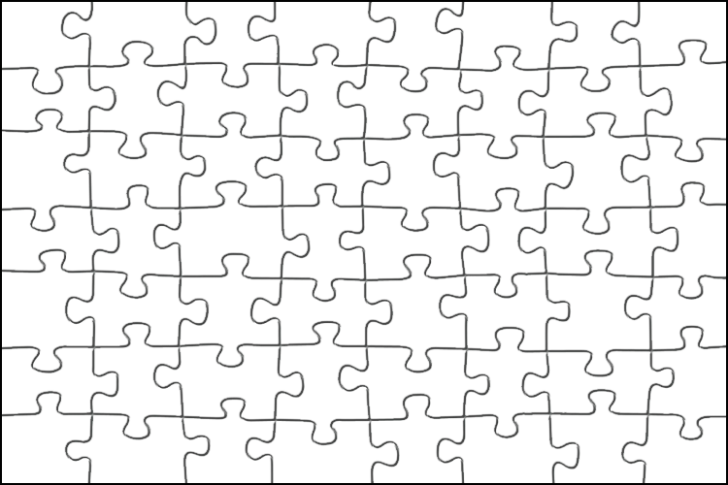 Puzzle clipart puzzle pattern. Pieces template ant yradar