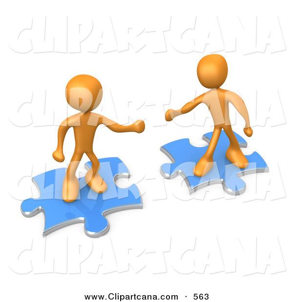 Clip art of two. Puzzle clipart puzzle person