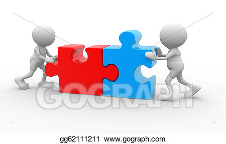 Puzzle clipart puzzle person. Drawing gg gograph
