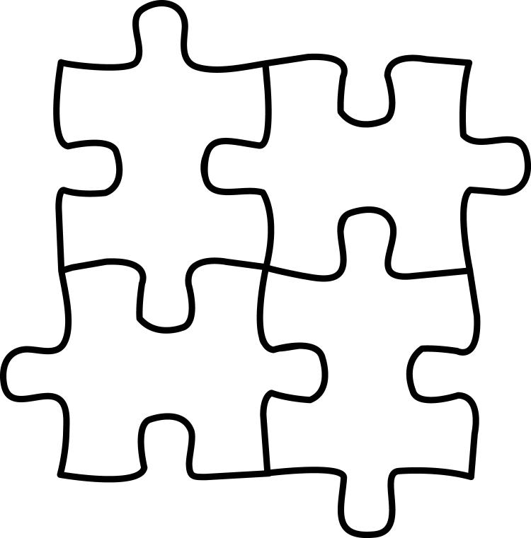Jigsaw heartsphere puzzlelogooutline . Puzzle clipart puzzle time