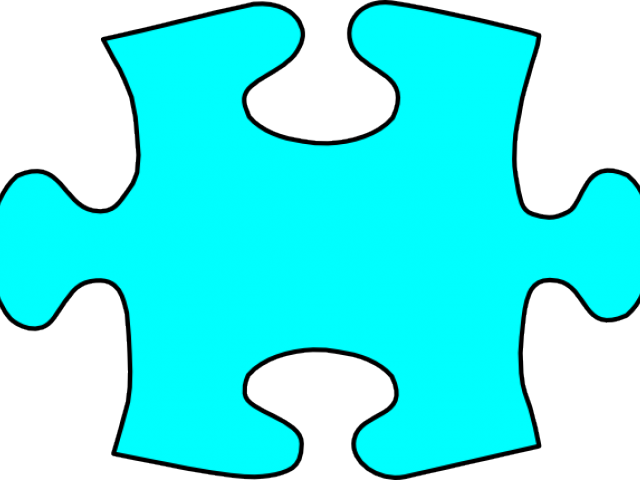 Puzzle clipart road. Teal piece png download