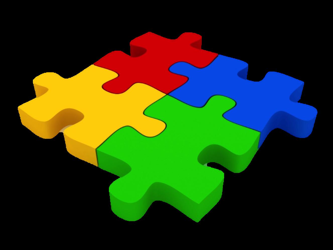 Puzzle clipart scenario. Improve organizational productivity by