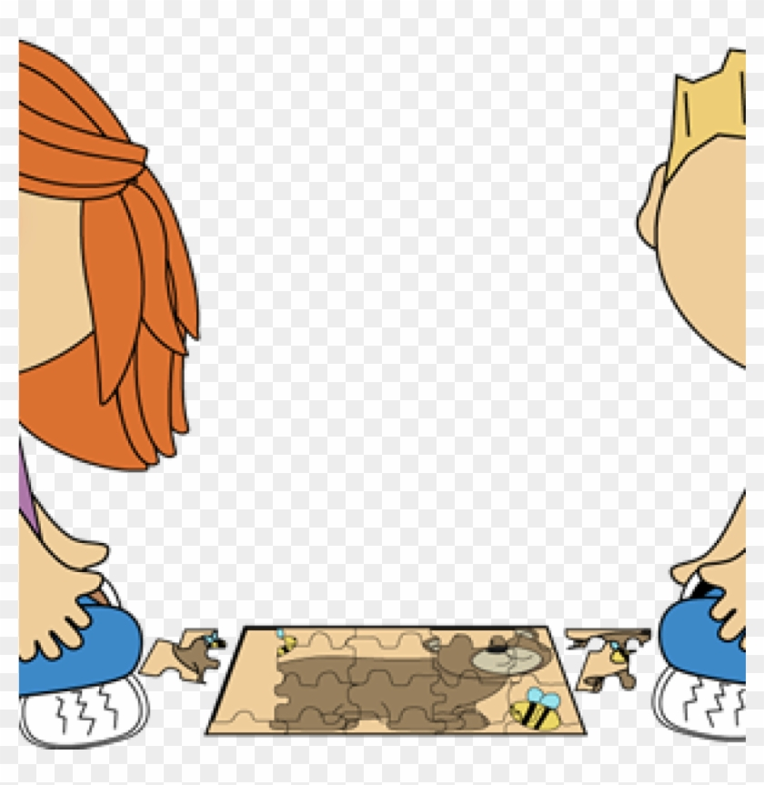 Kids clip art kid. Puzzle clipart school
