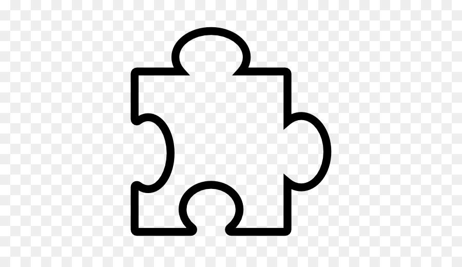White background text transparent. Puzzle clipart shape