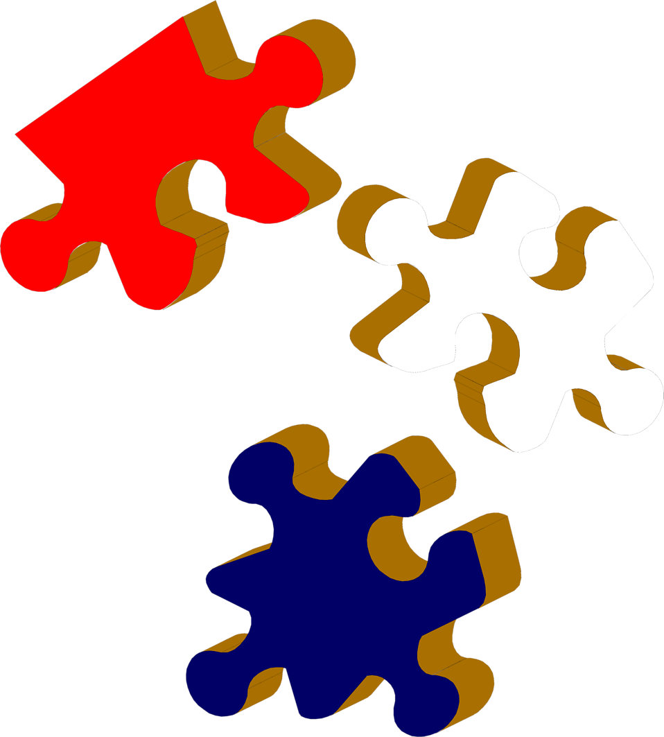 Free stock photo illustration. Puzzle clipart special education