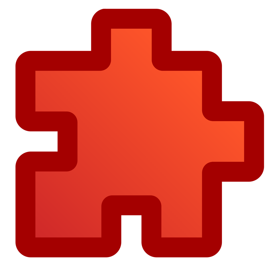 Free stock photo illustration. Puzzle clipart symbol