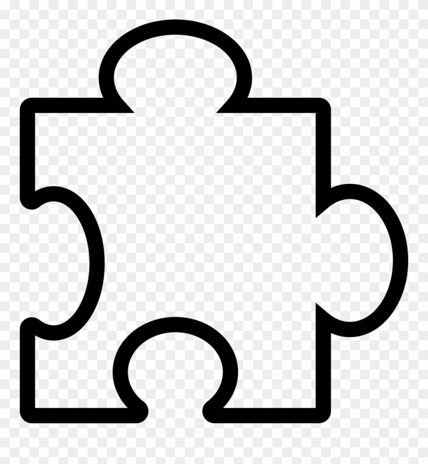 Piece icons icon png. Puzzle clipart symbol