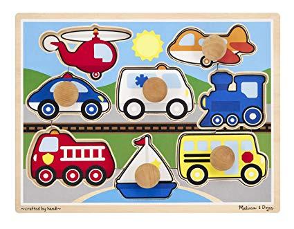 Melissa doug vehicles jumbo. Puzzle clipart wooden puzzle