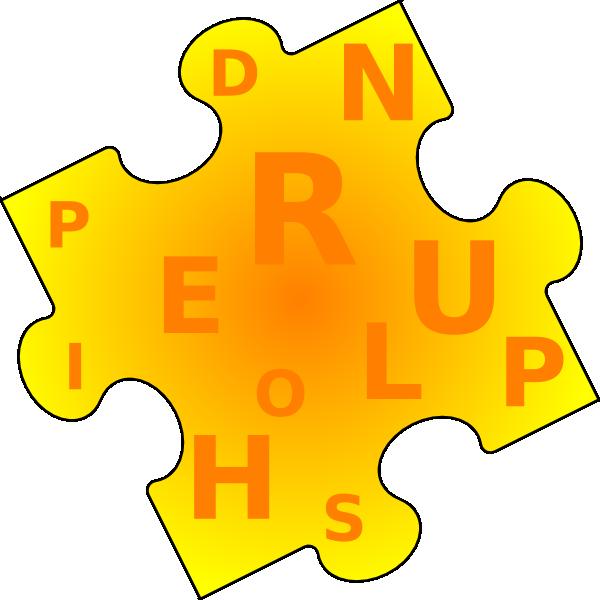 Piece clip art at. Puzzle clipart word puzzle