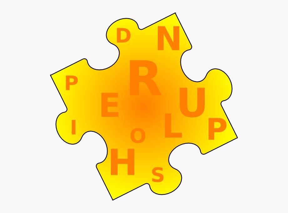 Piece clip art game. Puzzle clipart word puzzle